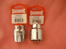 "SIDCHROME 14435 1/2"" DRIVE 12pt 1"" TORQUEPLUS STANDARD SOCKET (Quantity 2)"