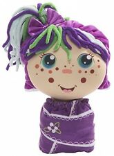 2 In 1 Plush Doll Flip Zee Girls Zara Happy Flower Sweet And Cuddly Unique Soft
