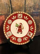NEW Villeroy & Boch Bakery Delight Salad Plate Santa Deer Star Christmas Germany
