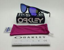 Oakley Frogskins 9013 colore 24-298 occhiale da sole nuovo violet iridium