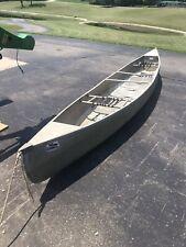 17'  aluminum canoe