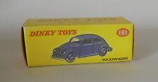 Repro box Dinky nº 181 VW Escarabajo