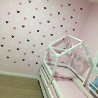 Wall Heart Decor Sticker Decal Home Art DIY Removable Mural Love Room Decoration