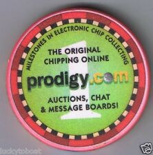 Chequers The Original Chipper On Line Prodigy Chipco Advertising Chip 2000