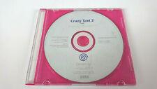 Crazy Taxi 2-Sega Dreamcast white label (prensa Promo pre-venta PAL)