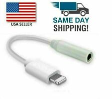 For iPhone Headphone Adapter 3.5mm Jack Aux Cord Dongle Audio Cable Connector