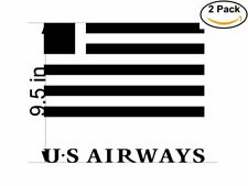 Us Airways 3 2 Stickers 9.5 inches Sticker Decal