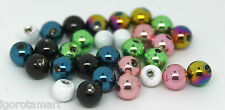 16G 14G Spare Bead Ball for Barbell Labret Bar Piercing Replacement Screw Balls