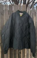 MENS CABELAS WORK WEAR HUNTING JACKET SZ X-Large TALL Quilted