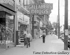 View Along Main Street, Circleville, Ohio - 1938 - Historic Photo Print