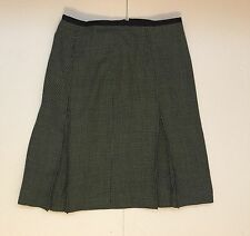 NWT Anne Klein Skirt, Navy, Zig Zag, Stretch Size 10