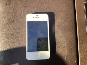 iPhone 4s unlocked 16gb white apple I phone was  at&t now  unlocked