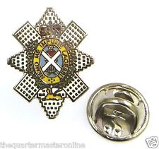 The Black Watch Lapel Pin Badge