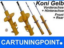 Koni Stoßdämpfer Set Vorne + Hinten für Opel Kadett C Sport Gelb