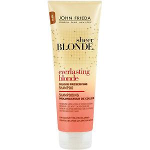 John Frieda Sheer Blonde Everlasting Blonde Color Preserving Shampoo 8.45 oz
