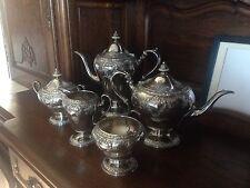 5 Piece Coffee Tea Sterling Silver Service Watson Company