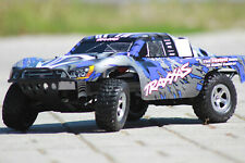 Traxxas 58024 Blue Slash 2WD Short Track Racer Incl. Tq Radio Controll 1:10 New