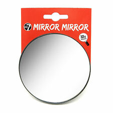 W7 Mirror Mirror, 10 x times Magnification, Suction Cups, Make Up Mirror