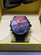 Diesel DZ7395 Men's MR DADDY 2.0 Black Stainless Steel Strap Watch / Leather