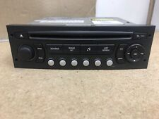 Peugeot Citroen Blaupunkt Rd4 N2-01 Car Radio Stereo CD player Fully Decoded