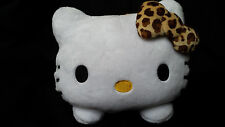 RARE Sanrio Hello Kitty Cat Leopard Tissue Box Cover Case Decoration Japan Only