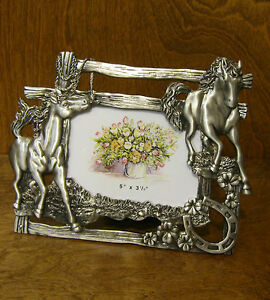 "Welforth Frame #1228 HORSE, NEW from our Retail Store 8"" x 6.5"", NEW/Box"