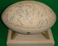 LLANELLI v SWANSEA 1994 SIGNED RUGBY BALL