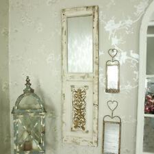 rustikal Holzern beunruhigt Wand Spiegel Tür Rollläden Stil Kunstvoll geschnitzt