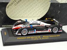 Ixo 1/43 - Peugeot 908 HDI FAP N°8 Winner Valencia 2007