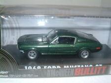 1/43 1968 Ford Mustang Bullitt, Steve McQueen Greenlight