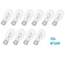 10 X W16W W2,1x9,5d 16W 12V Lámpara de la Bola Bombilla Festón Coche Glassockell
