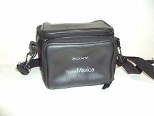 SONY MAVICA CAMERA OR CAMCORDER CARRING BAG w. CARRING STRAP AND BELT LOOPS