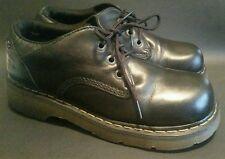 Dr Martens Oxford Shoes Black Leather Size UK9 US10 Womens US11