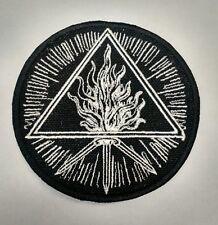 BEHEMOTH Sigil Embroidered Patch The Satanist furor divinus