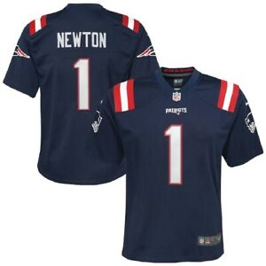 Cam Newton New England Patriots Nike Youth Game Jersey - Navy