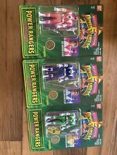 Bandai auto morphin power rangers ALL 6. SEALED.