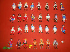 PLAYMOBIL * :: X 31 Soccer Footballers ( lot )