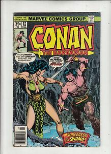 Conan the Barbarian #82 (Marvel 1978) Roy Thomas Howard Chaykin Fine-