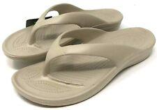 Dawgs Flip Flops Womens Size 9 Sandals Tan New