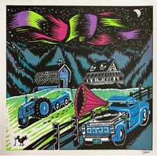 "PHISH ""CLUSTER FLIES ALBUM ART"" FORD EDITION PRINT/POSTER JIM POLLOCK xxx/150"