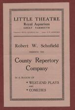 Great Yarmouth. Little Theatre. 'The Patsy' Joyce Hemson / Harry Hearn  ed18