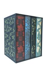 Extremely Rare, Leather-bound, Brontë Sisters Boxed Set