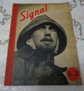 RIVISTA SIGNAL N°15 DEL 1° NOVEMBRE 1940 SECONDA GUERRA MONDIALE