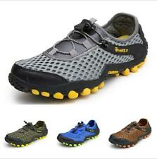 Hiking Shoes Men Sneaker Trail Athletic Sport Breathable Mesh Mid Top Comfort Sz