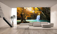 Deep Forest Waterfall  Wall Mural Photo Wallpaper GIANT DECOR Paper Poster