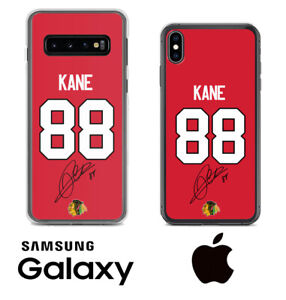 Patrick Kane Chicago Blackhawks Samsung iPhone Jersey Phone Case Facsimile Auto