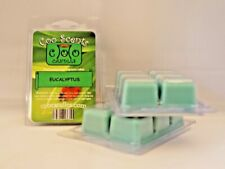 3 Pkgs (18 cubes) Coo Candles Soy Wickless Candle Bar Wax Melts - Eucalyptus