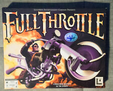 Full Throttle Big Box for the PC CD-ROM - Clean and Complete
