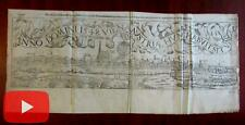 Vienna Austria prospect birds-eye city view 1548 Munster 1598 printed Europe