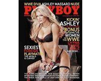 WWE Ashley Massaro Playboy Magazine April 2007